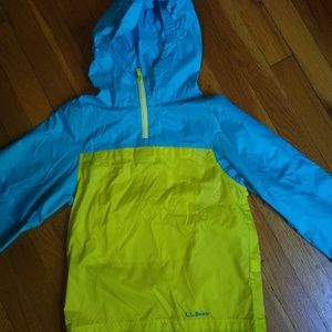 LLBean packable windbreaker, perfect condition